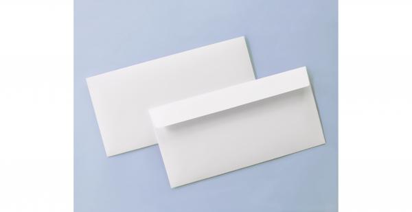 Umschlag weiß für Din lang-Karten