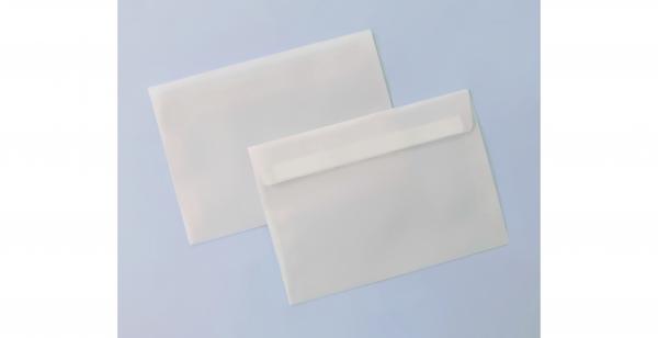 Umschlag transparent für A6-Karten