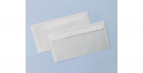 Umschlag transparent für Din lang-Karten